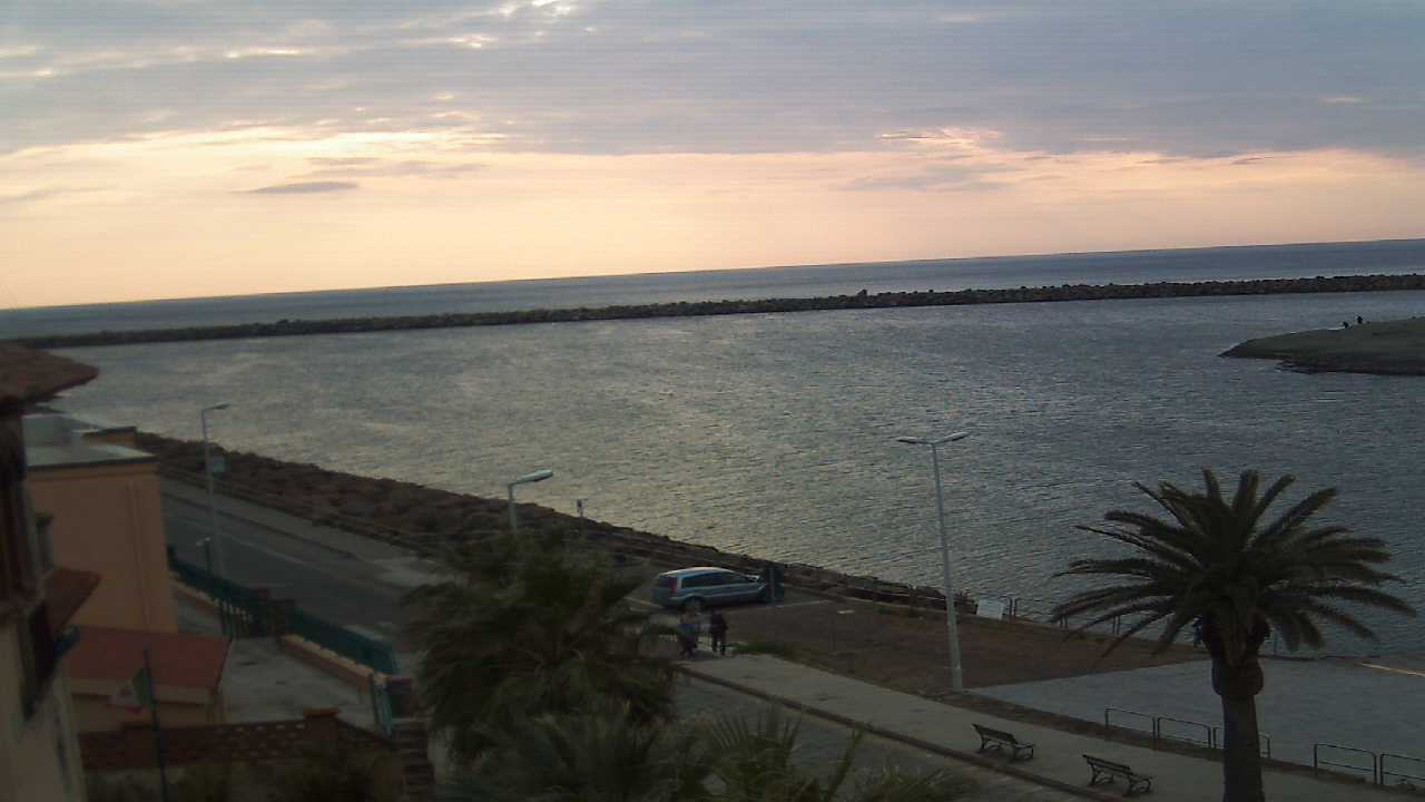 Webcam Bosa, Bosa Marina - Nautica Pinna